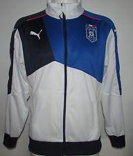 Mens Puma FIGC Italia Stadium Walk-Out -jacket-Team Power Blue Various Sizes