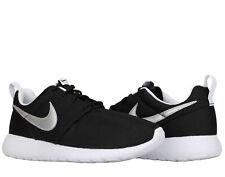 Nike Roshe One (GS) Black/Silver-White Big Kids Running Shoes 599728-021