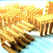 Amarillo Plástico Rawl Tacos taladro: 5mm, 5.5mm - Tornillo: Enchufe 4's/6's/8's (FWS)