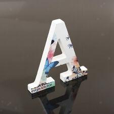 54Pcs Letters Wooden Alphabet Scrapbooking Cardmaking Craft Kids Education Toy