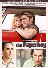"The Paperboy DVD Zac Efron, Matthew McConaughey John Cusack, Nichole Kidman ""R"""
