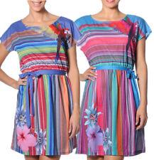 Smash Barcelona S-XXL UK 10-18 RRP ?46.50 Jussara Dress Tropical Floral Parrots