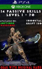 Diablo 3 - PS4 - Xbox One - Fully Modded PRIMAL Set - Uliana - Monk - V2