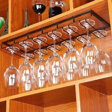 Gläserhalter Gläserschiene Edelstahl Glas Weinregale Champagner Cup Hangers Rack