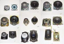 2x Lautsprecher verschiedene Ausführungen Boxen Speaker 1-10 Watt