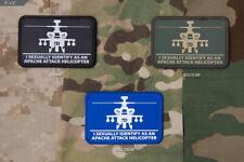 Mil Spec Monkey MSM Helisexual (Apache) PVC Morale Patch-Multicam-SWAT-Color