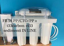 DEPURATORE  ACQUA PURIFICATORE MICROFILTRANTE LAMPADA UV 6W VARI STADI