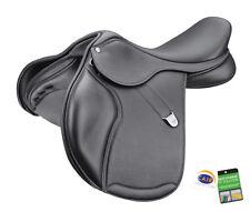 Bates Pony Elevation + Close Contact Adjustable CC Jump Saddle CAIR Black/Brown