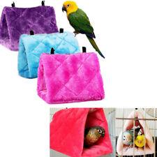 Oiseau de compagnie perroquet perruche perruche chaude hamac cage hutte tente ZH