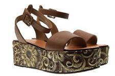 Cris Vergre' scarpe donna sandali H0802X MARRONE P18