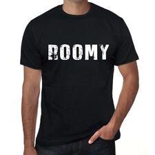 roomy Hombre Camiseta Negro Regalo De Cumpleaños 00553
