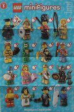 LEGO® Figuren Serie 5 - 8805 - Auswahl - NEU/OVP oder ZIP Tüte