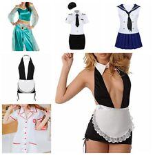 Women Princess Costume Party Halloween Fancy Dress Maid Sailor Nurse Role Cospla