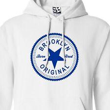 Brooklyn Original Inverse HOODIE - Hooded Born and Bred in Sweatshirt All Colors