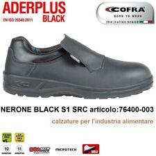SCARPE ANTINFORTUNISTICA COFRA NERONE BLACK S1 SRC per l'industria alimentare