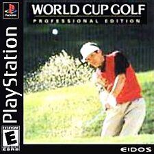 World Cup Golf: Professional Edition (Sony PlayStation 1, 1995)