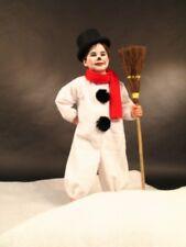 Schneemann Kostüm Kinder Weihnachten Karneval untersch. Größen