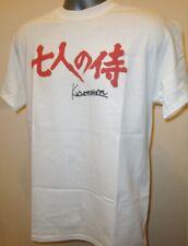 Seven 7 Samurai Kurosawa cine japonés Clásico De Culto Camiseta Ronin Guerrero 341