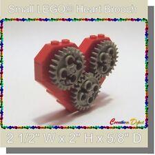 LEGO® Fashion Jewelry Mechanical Gears Heart Brooch Pin