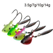 4 colors  Hard Hook Metal Spoons  Jig Head  VIB Fishing Lures Crank Bait