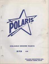 POLARIS SNOWMOBILE  ENGINES PARTS MANUAL 372cc