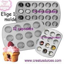 Molde Magdalenas muffins cupcakes minimagdalenas 12 o 24 unidades de Wilton