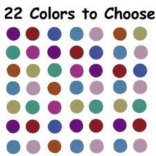 "Confetti Circle 1/4"" - 20 Colors to choose - $1.81 per 1/2 oz. FREE SHIP"