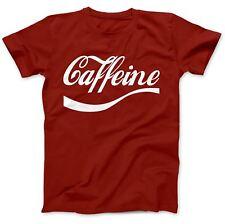 Goditi la caffeina del caffè T-shirt 100% Cotone Premium Divertente Regalo MOLECOLA