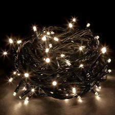 Warm White Christmas String Fairy Light 100-1000 LED 10m-100m, Memory+10M Lead