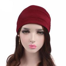 Muslim Women Hijab Caps Turban Hat Beanie Cancer Chemo Headwraps Cap Underscarf