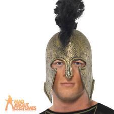 Roman Gladiator Achilles Helmet Centurion Fancy Dress