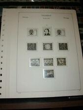 KABE - OF Bund Vordruckblätter 1960-1969 komplett gute Erhaltung (1101)
