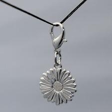 Ciondolo Margherita Fiore Moschettone Daisy Charm Flower Snap Hook Pendant