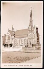 Baltimore Md Mount Vernon Place Me Church Rppc Postcard