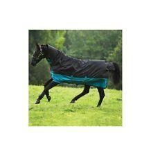 Outdoordecke ohne Halsteil 200g Mio Horseware schwarz/türkis NEU