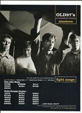 Rhett Miller Old 97's P.O.D. Nineteen & Outkast Trade Ad Poster of 99 Cd 97s Pod