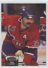 1992-93 Topps Stadium Club #452 Mike McPhee Montreal Canadiens Hockey Card