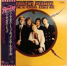 Herman's Hermits Rock 'N Roll Best 20 Japan Album W/OBI