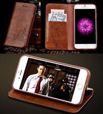Etui magnétique en cuir téléphone portable pour Samsung Galaxy Note 3 4 5 7 8