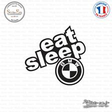Sticker JDM Eat Sleep Bmw Decal Aufkleber Pegatinas D-161 - Couleurs au choix