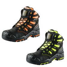 Buckler BUCKZVIZ Lace-Up Safety Waterproof Work Boots (Various Options)