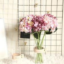 Artificial flower hydrangea Fake Silk Flower Home Wedding Party Floral Decor