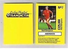 EMLYN HUGHES Team Tactix football player cards – VARIOUS Teams A to E