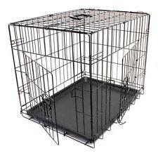 Verschiedene Größen Klappbarer Transportkäfig Drahtkäfig Transportbox Hund