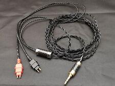 Pure Silver Upgrade Cable Sennheiser HD580 HD600 HD650