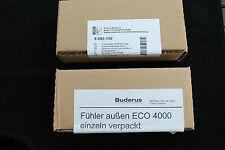 Buderus  Außenfühler ECO 3000 (5993150) oder ECO Fühler 4000 (5991374) zur Wahl