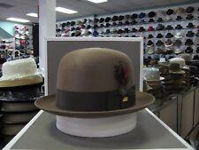 STETSON HIBOY TAWNY ROYALE DELUXE FUR FELT SILK FINISH DRESS HAT