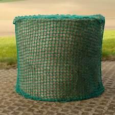 Heunetz Rundballen,Slow Feeder,130 cm durchmesser,10 cm Masch,Kordel 0,4 cm