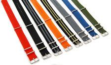 Nylon  ZULU Watch strap Uhrenarmband 22mm Neu Uhr Band Textil NATO-Armband