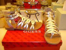 Guess Pollie Silver Gladiator Sandal Styllish Comfortable Versatile New $110 6